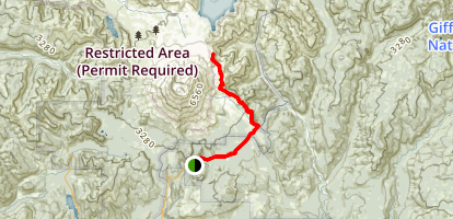 Ape Canyon to Plains of Abraham Map
