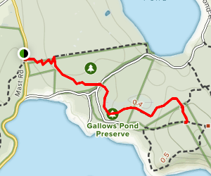 Whippoorwill Trail Map