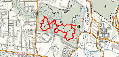 Vine Maple, Elliot, Big Fir, Serviceberry, Ash and Cougar Loop Map
