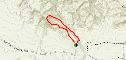 Mexican Canyon Map