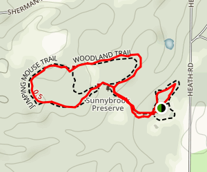 Jumping Mouse and Woodland Trail Loop Map