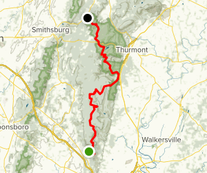 Catoctin National Recreation Trail Map