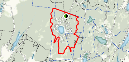 Charge Pond Loop Trail Map