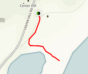 Center Hill East Trail Map