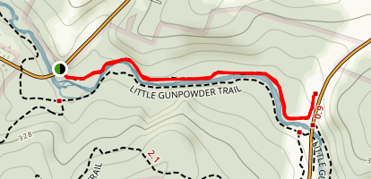 Little Gunpowder Northside Trail Map