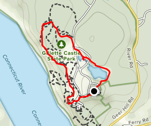 Gillette Castle Loop Map