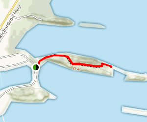 Dock Point Trail Map