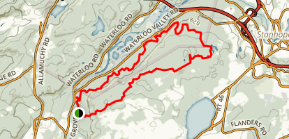 Stephens State Park Fire Tower Loop Map