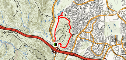 Lake, Gravel, Ridgeline and Blackjack Loop Map