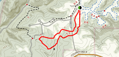 Turkey Hollow Trail Loop Map