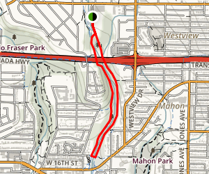 Mosquito Creek Trail Map