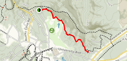 Beckwith Point Trail Map