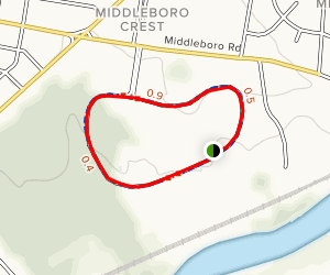 Banning Park Paved Loop Map