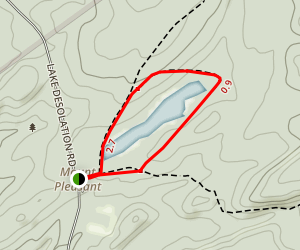 Archers Valley Loop Map