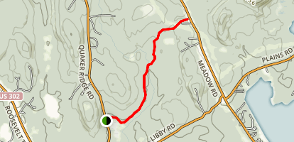 Que Five Trail  Map