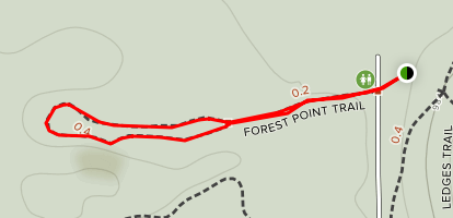 Forest Point Trail Map