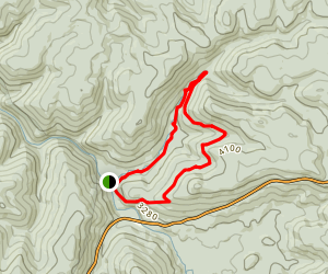Tea Creek Loop Map