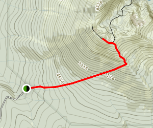Magee Peak Map
