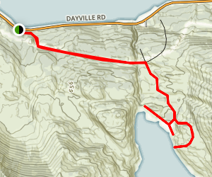 Solomon Lake Trail Map
