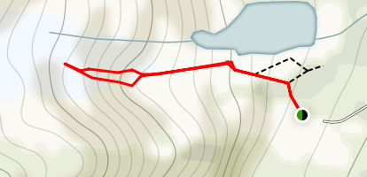 Worthington Glacier Map