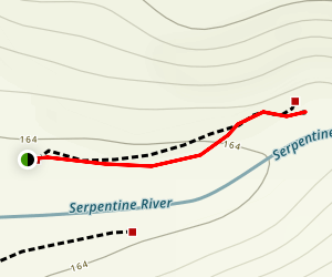 Serpentine Falls Map