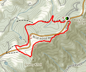 Black Ridge Trail Map