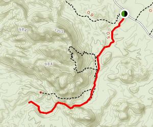 SARA Crack Trail Map