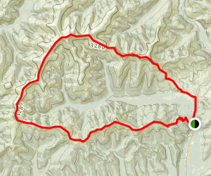 Chena Dome Trail Map