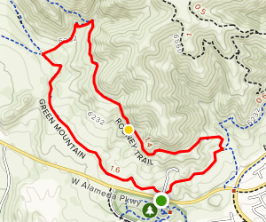 Rooney Trail Loop Map