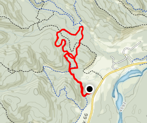Ridgeback Trail Loop Map