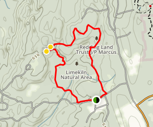 Gneiss Trail Map
