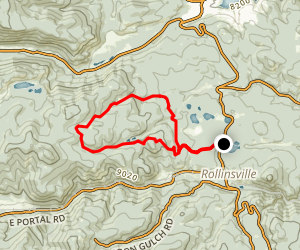 Schoolbus and Tennessee Trail Loop Map