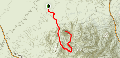 Elephant Head: East Ridge Trail Map