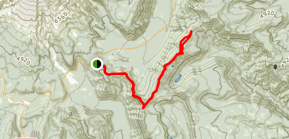 Gunsight Ridge Trail Map