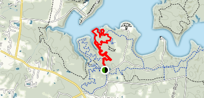 East Fork Technical Trail Map