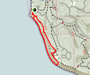 Fort Ebey Loop Map