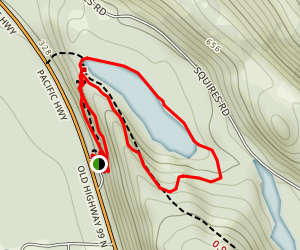 Squires Lake Trail Map