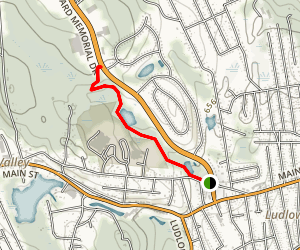 Parson's Cider Mill Trail Map