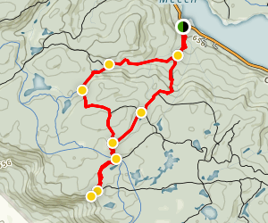 P12 Trail 40, 33 & 2 Map