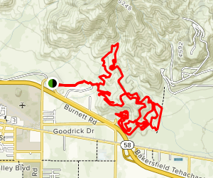 TMTA Lehigh Trail Loop [PRIVATE PROPERTY] Map
