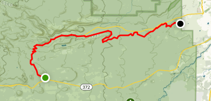 Swampy Lakes to Phil's Trail Map
