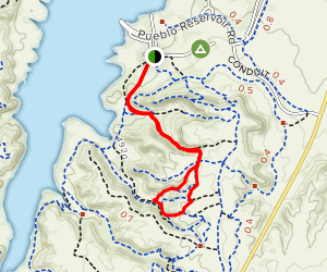 Hooters Canyon and Pinball Loop Map