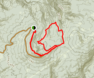 Larch Mountain Trail to Oneonta Trail Loop (CLOSED) Map