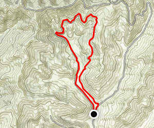 Soggy Bottom Trail Loop Map