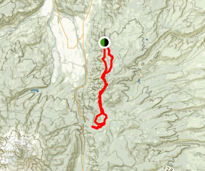 Surveyor's Ridge Trail Loop Map