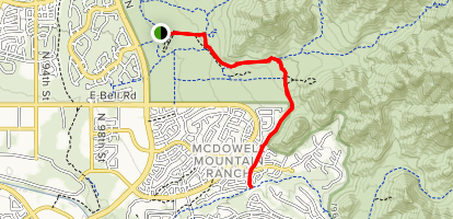Paradise Trail via Gateway Loop Map
