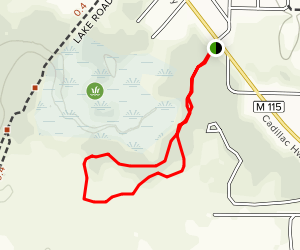 First Creek Nature Trail Map