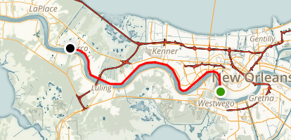Mississippi River Trail Map
