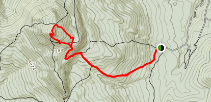 Camel's Hump Trail Map