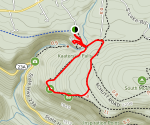 Layman's Monument Loop Trail Map